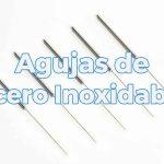 Agujas de acero inoxidable acupuntura